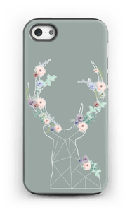 Cerf & Fleurs  Coque  IPhone 5/5s tough
