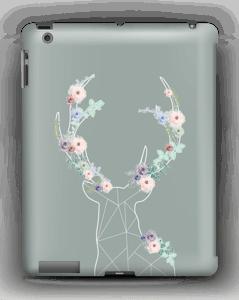 Reinsdyr med blomster deksel IPad 4/3/2