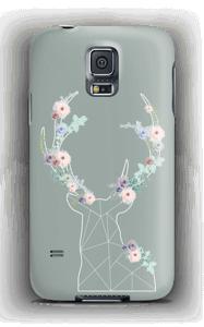 Cerf & Fleurs  Coque  Galaxy S5