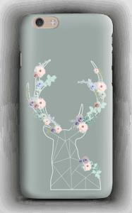 Reinsdyr med blomster deksel IPhone 6