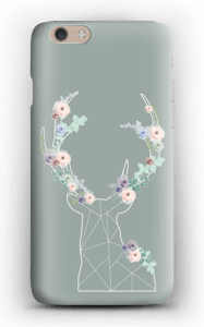 Lovely flowery reindeer  case IPhone 6