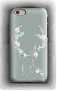 Cerf & Fleurs  Coque  IPhone 6 tough