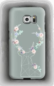 Cerf & Fleurs  Coque  Galaxy S6 Edge
