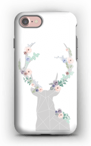 Flower reindeer  case IPhone 7 tough