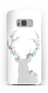 Flower reindeer  case Galaxy S8