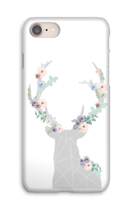 Flower reindeer  case IPhone 8