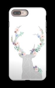 Kukkaispeura kuoret IPhone 8 Plus tough