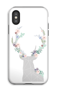 Ren i blomster skal IPhone X tough