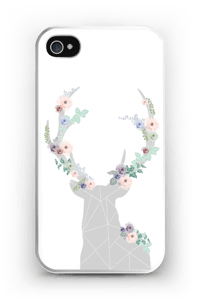 Blomsterrein deksel IPhone 4/4s
