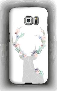 Blomsterrein deksel Galaxy S6 Edge
