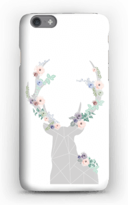 Hjort i blomster cover IPhone 6s