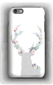 Flower reindeer  case IPhone 6s Plus tough