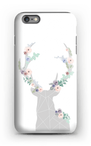 Hjort i blomster cover IPhone 6 Plus tough