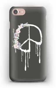 Peace & Flowers Coque  IPhone 7