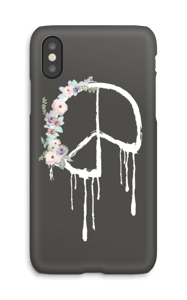 Flowery peace case IPhone X