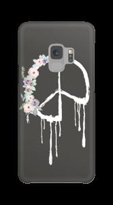 Pace con ghirlanda di fiori cover Galaxy S9