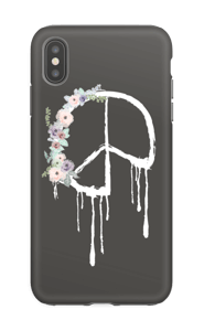 Peace & Flowers Coque  IPhone XS Max tough