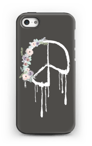 Peace Flower kuoret IPhone 5/5s tough