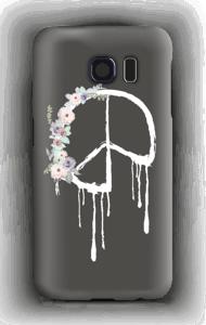 Flowery peace case Galaxy S6