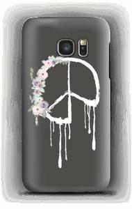 Flowery peace case Galaxy S7