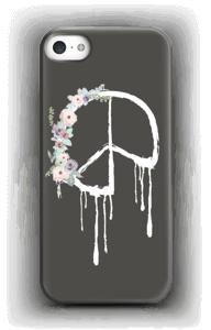 Flowery peace case IPhone SE