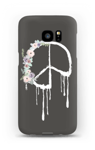 Flowery peace case Galaxy S7 Edge