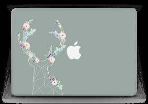 """Rentier auf Grün Skin MacBook Pro Retina 13"""" 2015"""