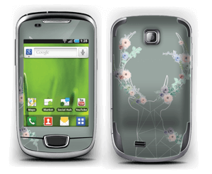 Grey Blooming Deer  Skin Galaxy Mini