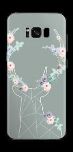 Cerf & Fleurs Skin Galaxy S8 Plus