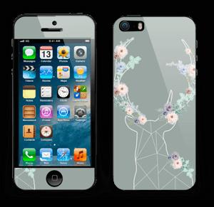 Grey Blooming Deer Skin IPhone 5s