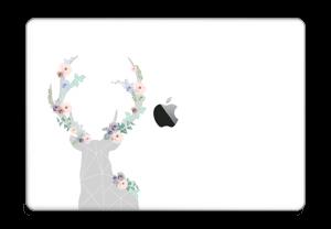 "Cerf & Fleurs Blanc Skin MacBook Pro 15"" 2016-"