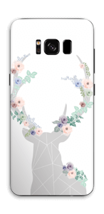 Rentier mit Blumen Skin Galaxy S8
