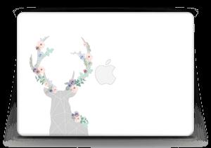 """Cerf & Fleurs Blanc Skin MacBook Air 13"""""""