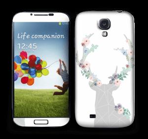 Blooming Deer  Skin Galaxy S4
