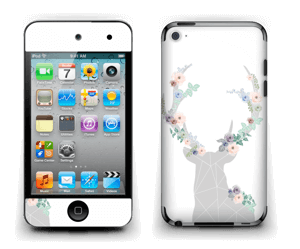 Blooming Deer  Skin IPod Touch 4th Gen