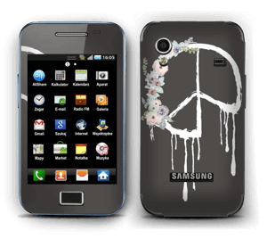 Peace Flowers Skin Galaxy Ace