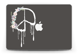"Friedensblumen Skin MacBook Pro Retina 13"" 2015"