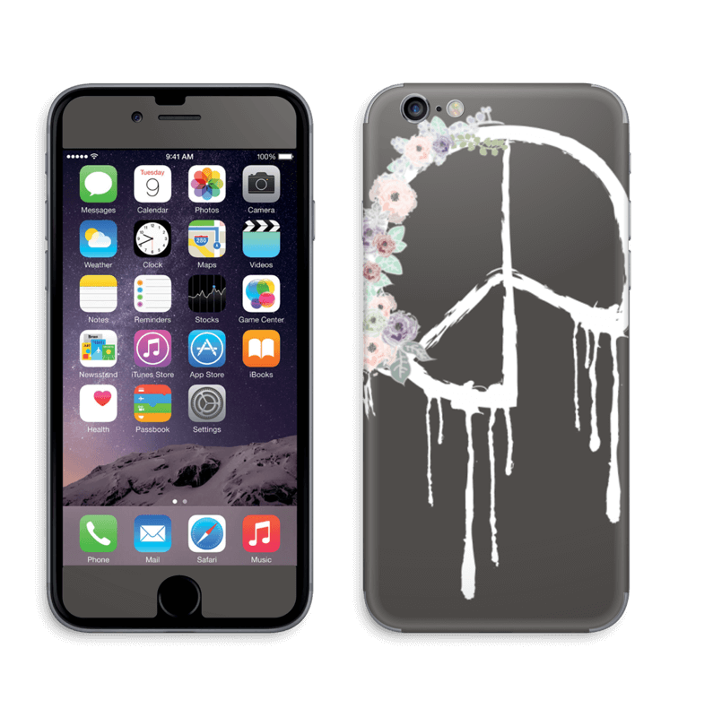 Friedensblumen IPhone 6 6s Skin