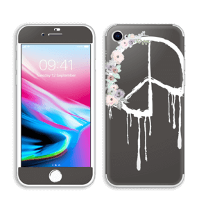 Peace & Flowers Skin IPhone 8