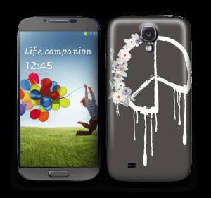 Peace Flowers  Skin Galaxy S4