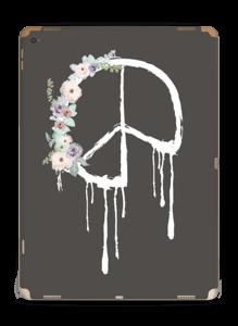 Peace Flowers Skin IPad Pro 12.9