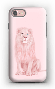 Pinkki leijona kuoret IPhone 7 tough