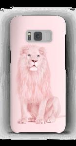 Roze leeuw hoesje Galaxy S8