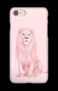 Ett rosa lejon skal IPhone 8