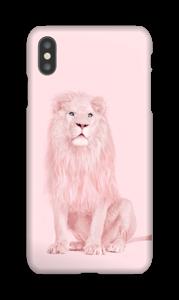 Pinkki leijona kuoret IPhone XS Max