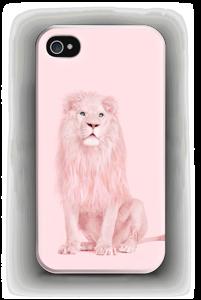 Pinkki leijona kuoret IPhone 4/4s