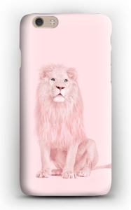 Lion in pink case IPhone 6