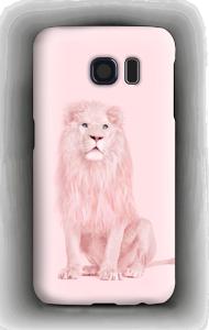 Pinkki leijona kuoret Galaxy S6