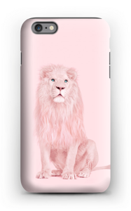 Pinkki leijona kuoret IPhone 6s Plus tough