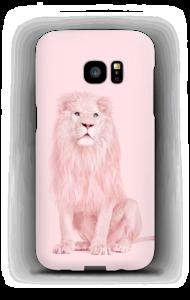A pink lion case Galaxy S7 Edge